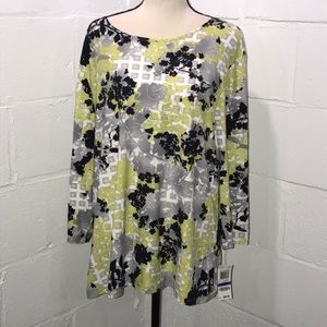 JM Collection Top size XL  new with tags